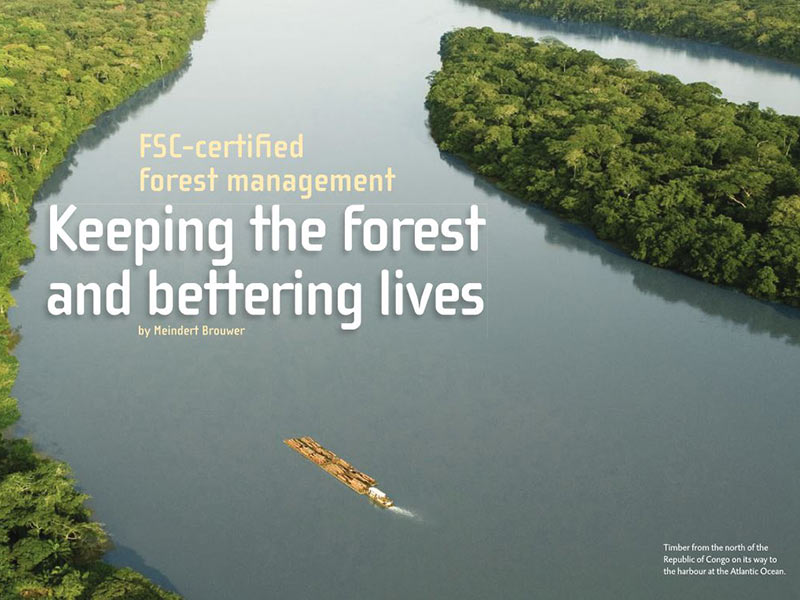 Interholco´s FSC-certified forest management in Congo