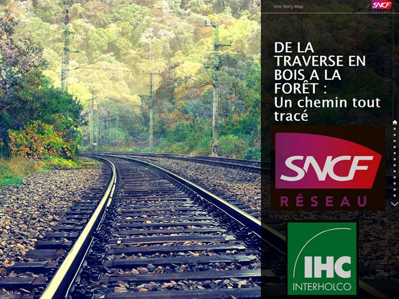 SNCF champion of Sustainable Hardwood Made in Africa