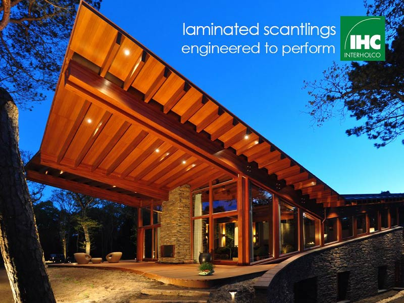INTERHOLCO's laminated scantlings: engineered to perform